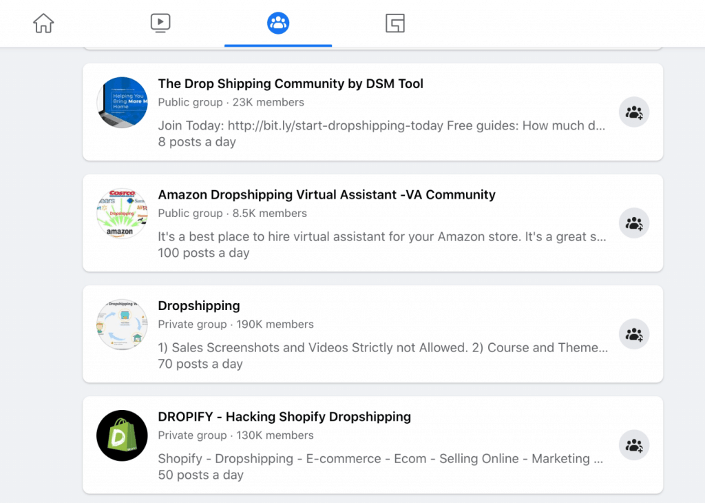facebook dropshipping agent