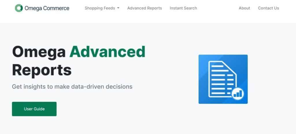 omega-advanced-reports
