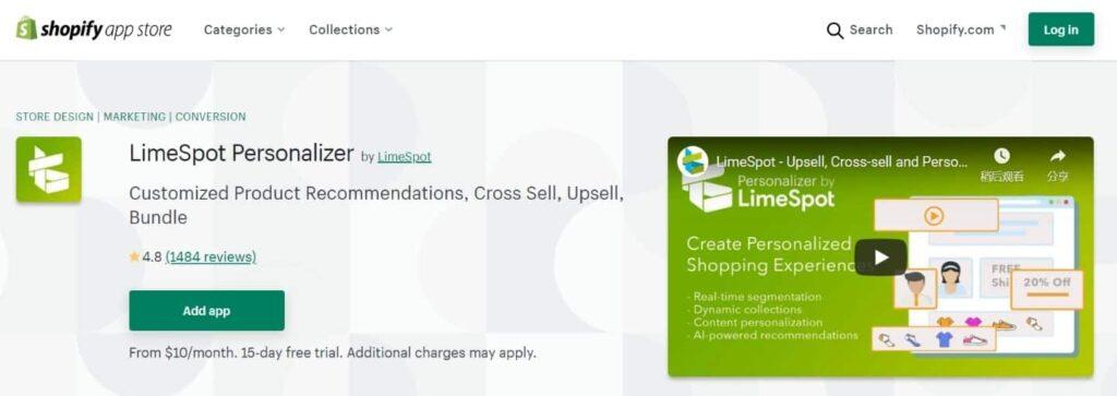 limespot-Personalizer