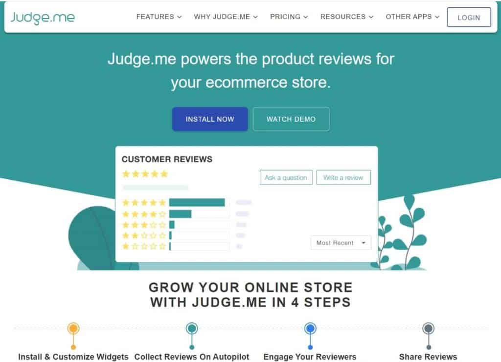 judge-me-best-product-review-app-for-shopify
