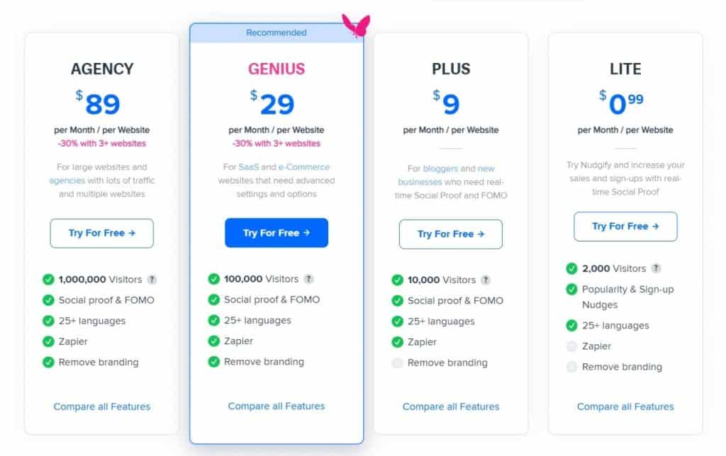 nudgify-pricing